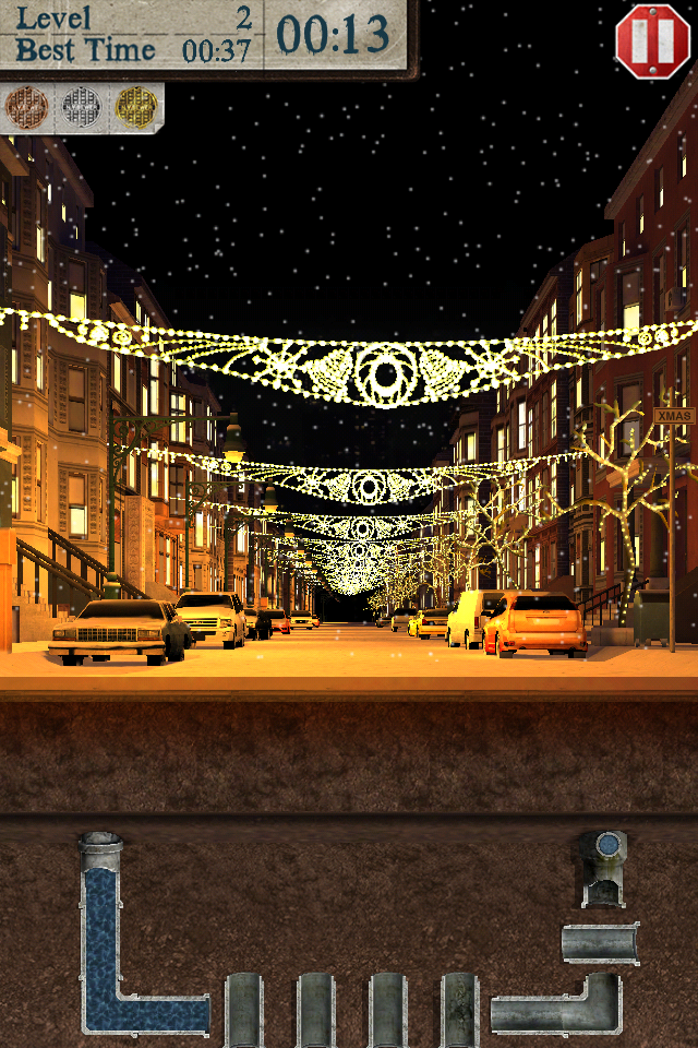 Screenshot PipeRoll 3D New York Winter